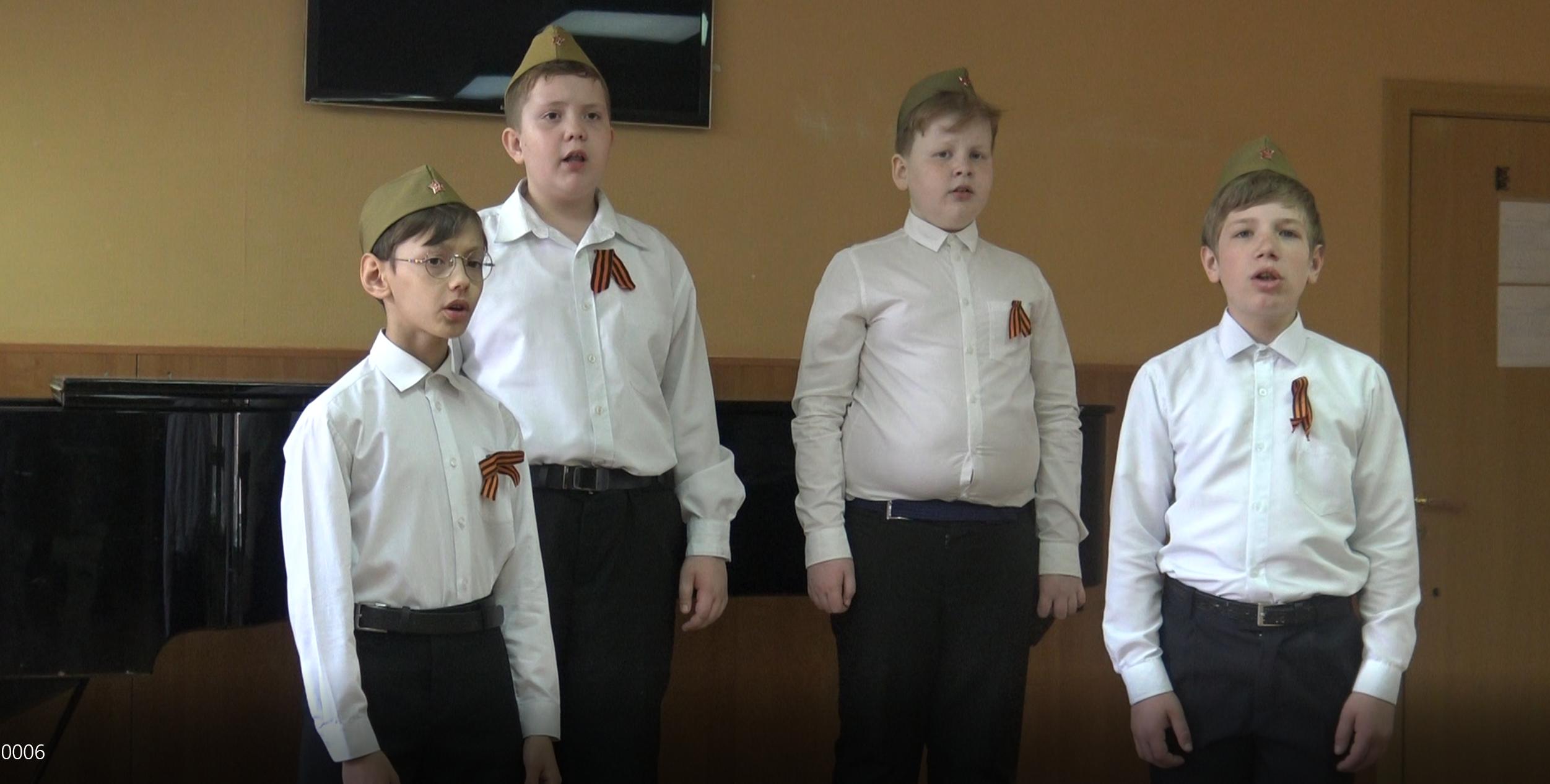 «Алёша» — советская песня, исполняют учащиеся отделения «Хоровое дирижирование»